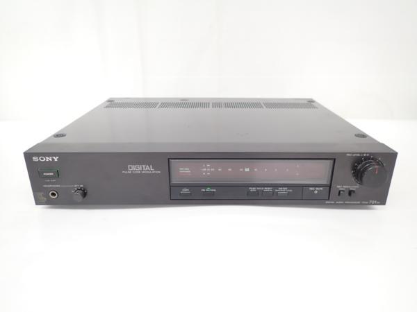【高額買取実施中!!】SONY PCMプロセッサー PCM-701ES ソニー